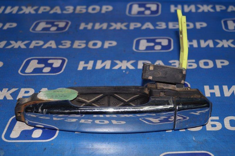 Ручка двери наружная Geely Mk Cross 1.5 (MR479QA) 2014 задняя левая (б/у)