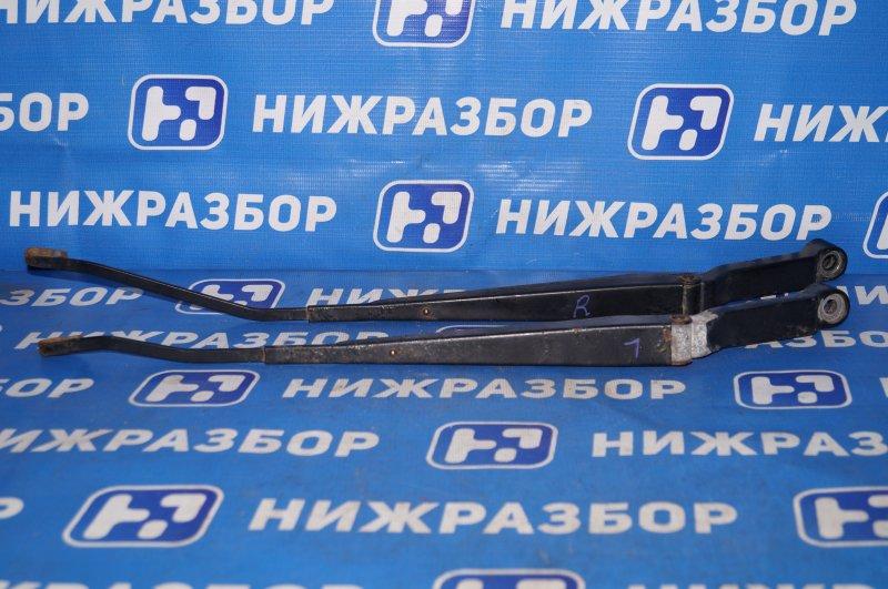 Поводок стеклоочистителя к-кт Geely Mk Cross 1.5 (MR479QA) 2014 передний (б/у)