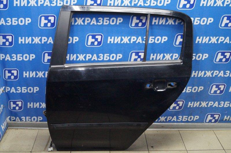Дверь Geely Mk Cross 1.5 (MR479QA) 2014 задняя левая (б/у)