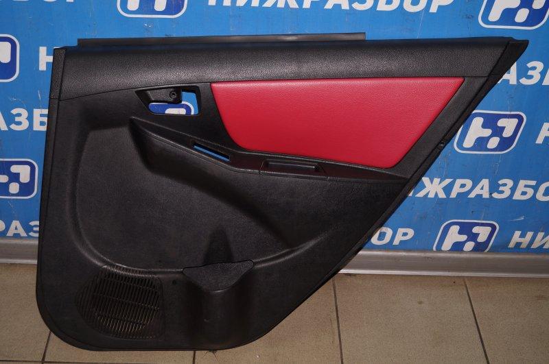 Обшивка двери Geely Mk Cross 1.5 (MR479QA) 2014 задняя правая (б/у)