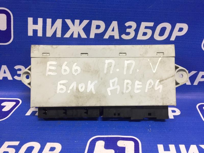 Блок комфорта Bmw 7-Серия E65/E66 2001 передний правый (б/у)