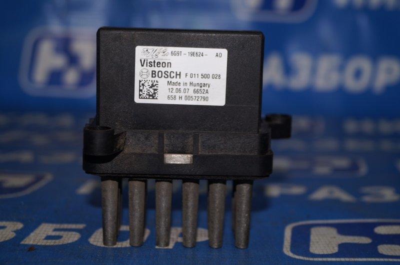 Резистор отопителя Ford Focus 2 1.6 (HXDB) 2007 (б/у)