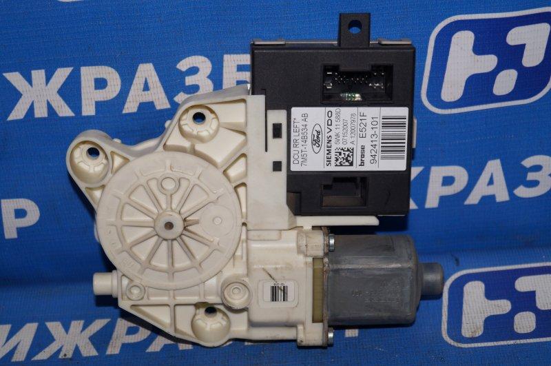 Моторчик стеклоподъемника Ford Focus 2 1.6 (HXDB) 2007 задний левый (б/у)