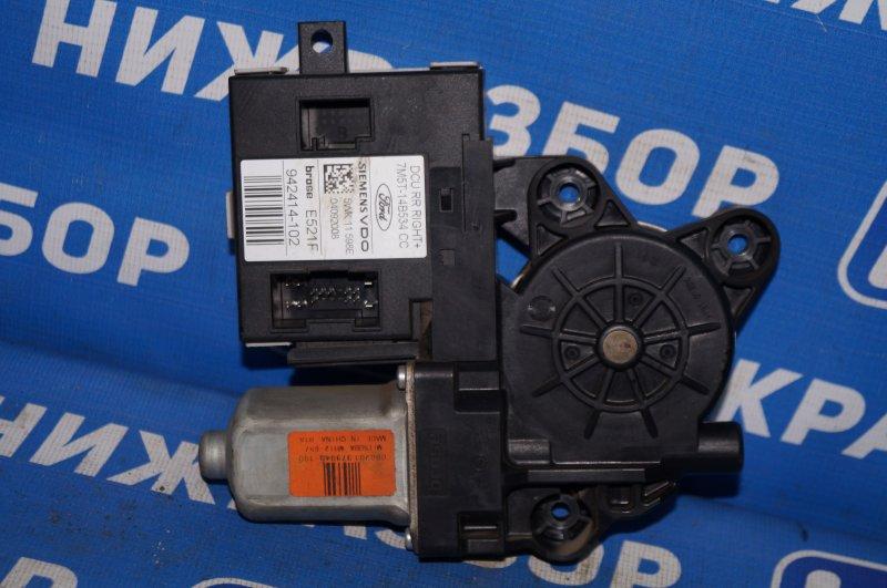 Моторчик стеклоподъемника Ford Focus 2 1.6 (HXDB) 2007 задний правый (б/у)