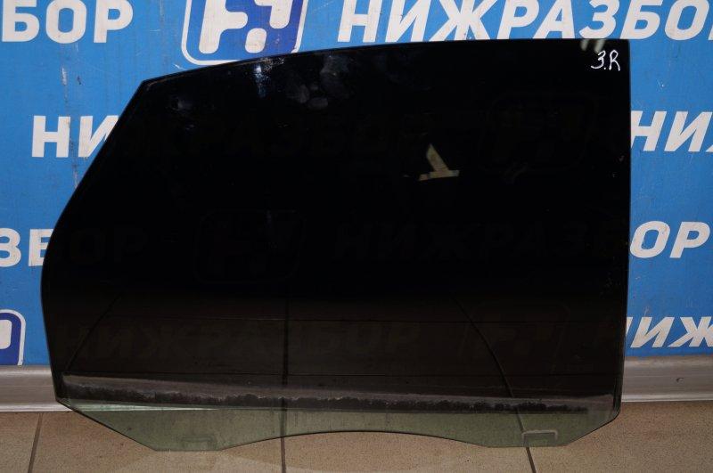 Стекло двери Ford Focus 2 1.6 (HXDB) 2007 заднее правое (б/у)