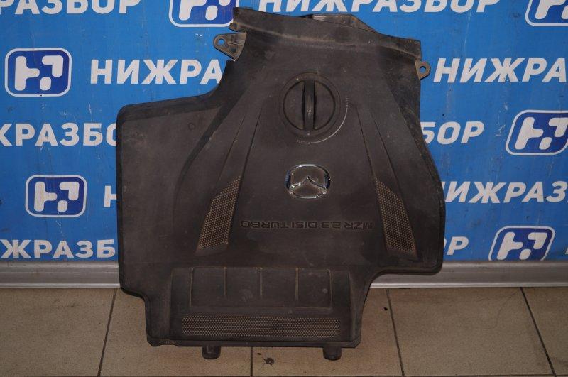 Накладка двигателя декоративная Mazda Cx 7 ER 2.3T (L3) 2008 (б/у)
