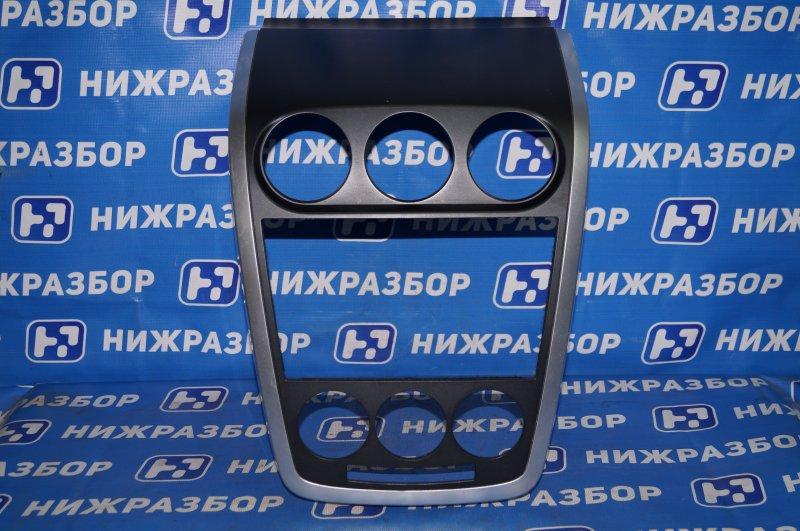 Рамка магнитолы Mazda Cx 7 ER 2.3T (L3) 2008 (б/у)