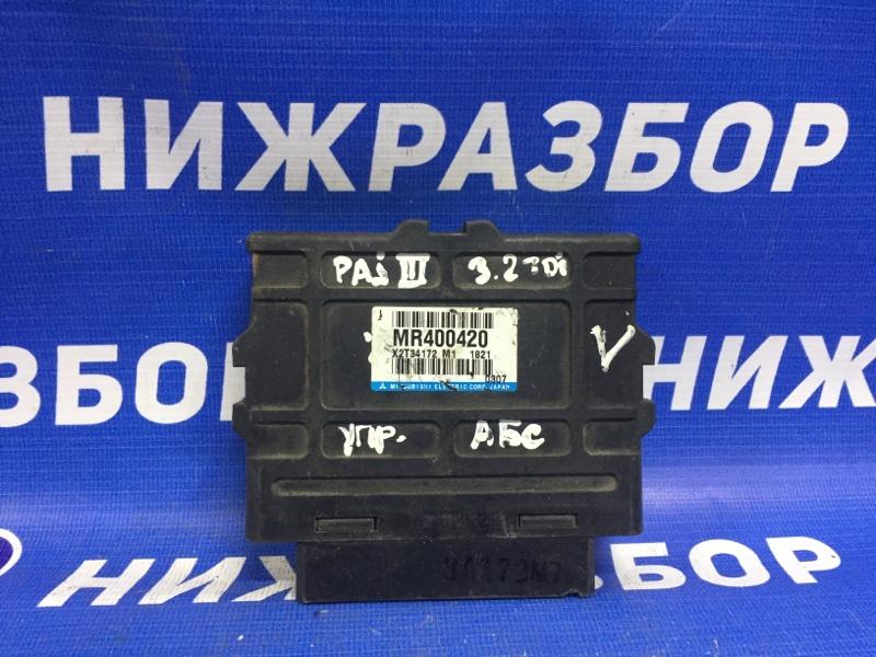 Блок управления abs Mitsubishi Pajero 3 2000 (б/у)