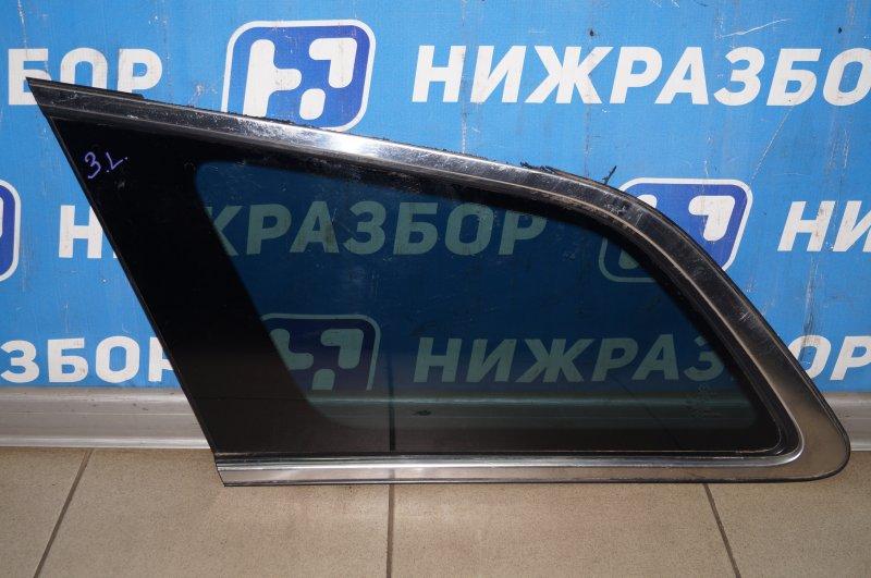 Стекло кузовное глухое Mazda Cx 7 ER 2.3T (L3) 2008 заднее левое (б/у)