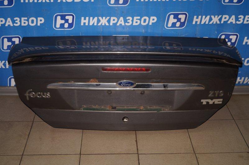 Крышка багажника Ford Focus 1 2.0 ZETEC 2002 (б/у)