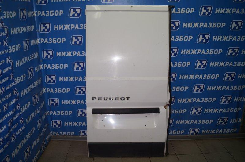 Дверь багажника Peugeot Boxer 250 2006> левая (б/у)