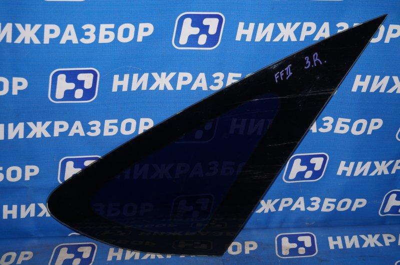 Форточка Ford Focus 2 1.8 (QQDB) 2007 задняя правая (б/у)