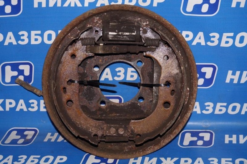 Щит опорный Ford Focus 2 1.8 (QQDB) 2007 задний левый (б/у)