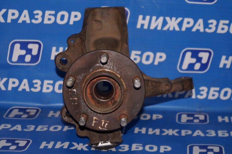 Кулак поворотный Ford Focus 2 1.6 (HXDA) 2005 передний левый (б/у)