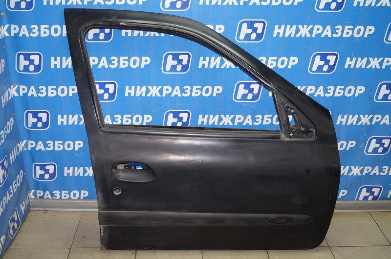 Дверь Renault Clio /symbol 1.4 K7JA700 2000 передняя правая (б/у)
