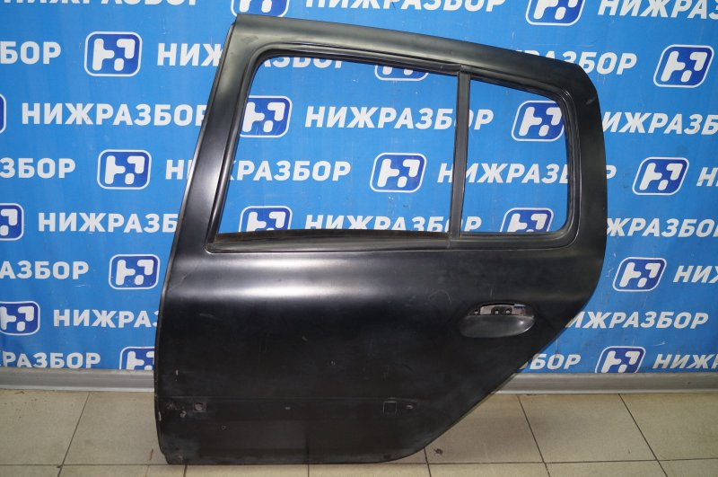 Дверь Renault Clio /symbol 1.4 K7JA700 2000 задняя левая (б/у)