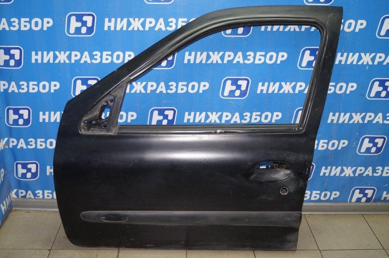 Дверь Renault Clio /symbol 1.4 K7JA700 2000 передняя левая (б/у)