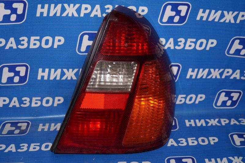 Фонарь Renault Clio /symbol 1.4 K7JA700 2000 задний правый (б/у)