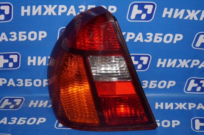 Фонарь Renault Clio /symbol 1.4 K7JA700 2000 задний левый (б/у)