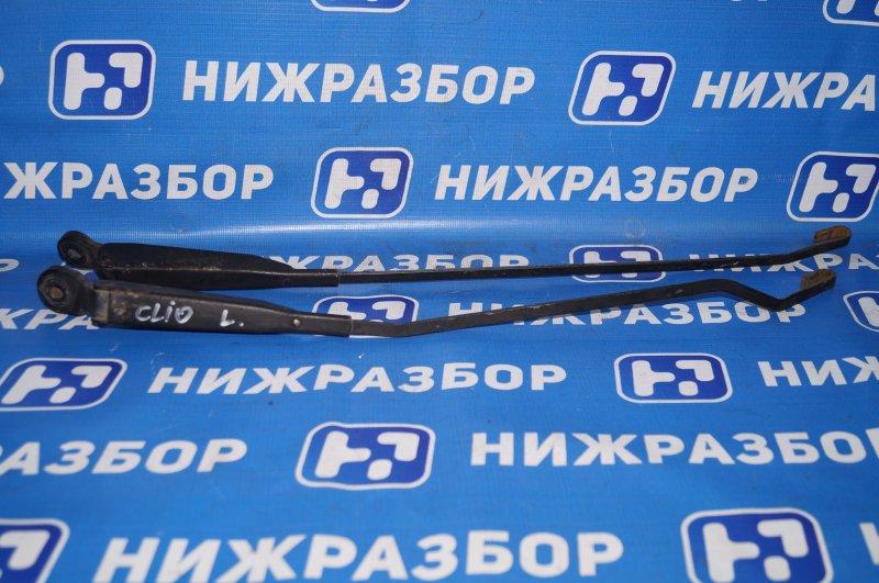 Поводок стеклоочистителя к-кт Renault Clio /symbol 1.4 K7JA700 2000 передний (б/у)