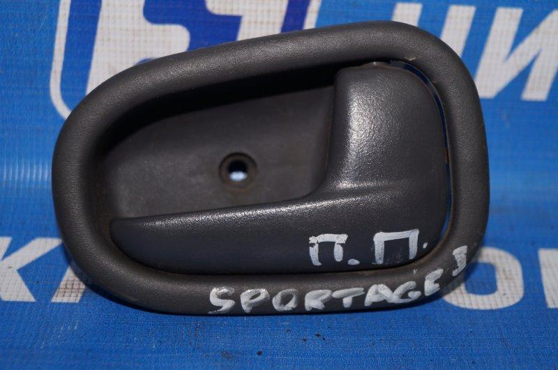 Ручка двери внутренняя Kia Sportage 1 JA 2.0 FE 2000 передняя правая (б/у)