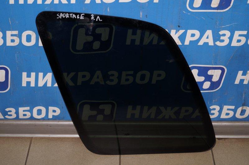 Стекло кузовное глухое Kia Sportage 1 JA 2.0 FE 2000 заднее левое (б/у)