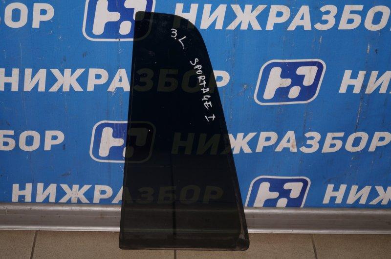 Форточка двери Kia Sportage 1 JA 2.0 FE 2000 задняя левая (б/у)