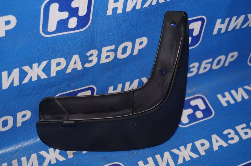 Брызговик Chevrolet Aveo T250 задний правый