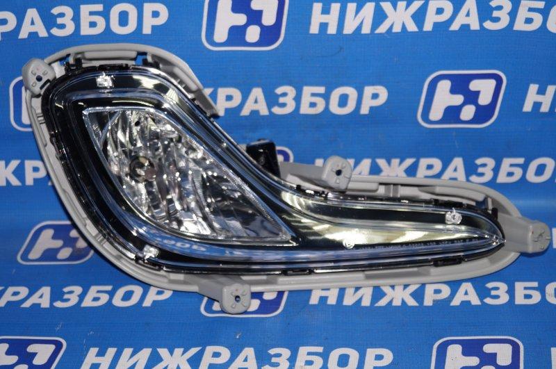 Фара противотуманная Hyundai Solaris 2010 передняя правая