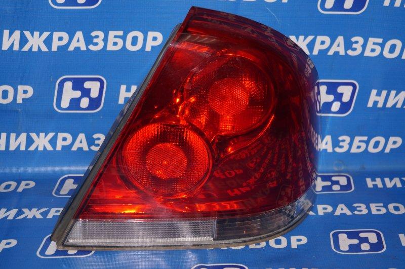 Фонарь Hafei Princip HFJ 7161 1.6 DA4G18 2007 задний правый (б/у)