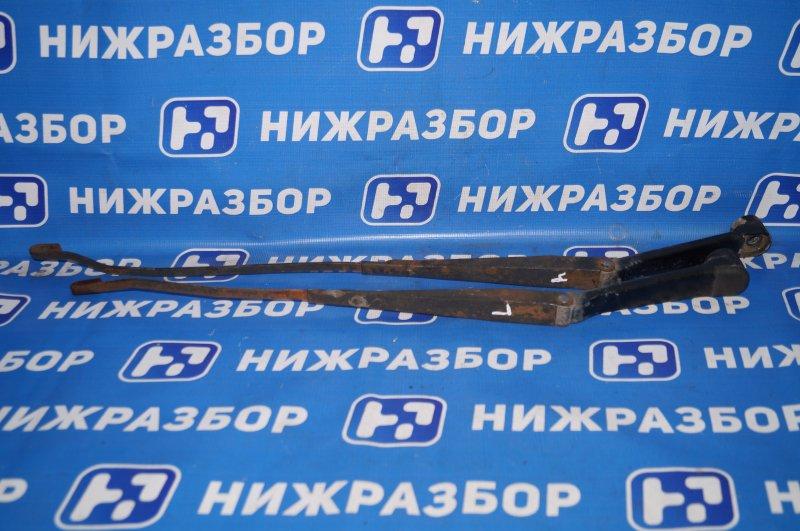 Поводок стеклоочистителя к-кт Hafei Princip HFJ 7161 1.6 DA4G18 2007 передний (б/у)