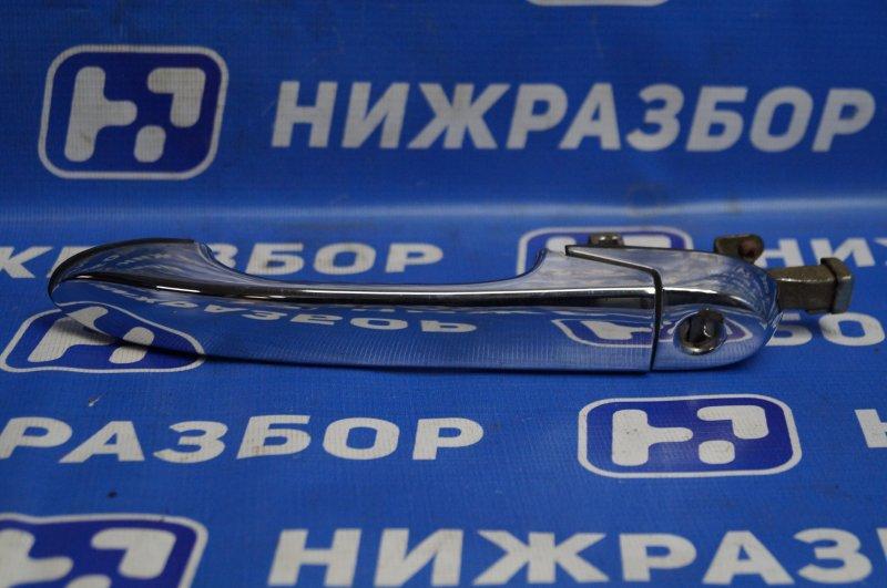 Ручка двери наружная Hafei Princip HFJ 7161 1.6 DA4G18 2007 передняя правая (б/у)