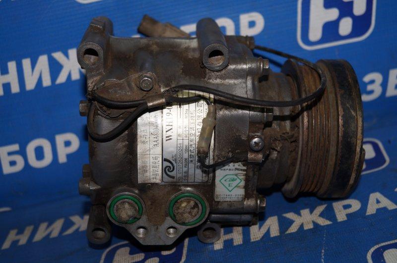 Компрессор кондиционера Hafei Princip HFJ 7161 1.6 DA4G18 2007 (б/у)