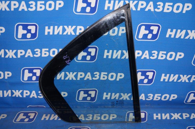 Форточка двери Hafei Princip HFJ 7161 1.6 DA4G18 2007 задняя правая (б/у)