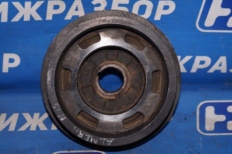 Шкив коленвала Nissan Almera N15 1.4 GA14 1997 (б/у)