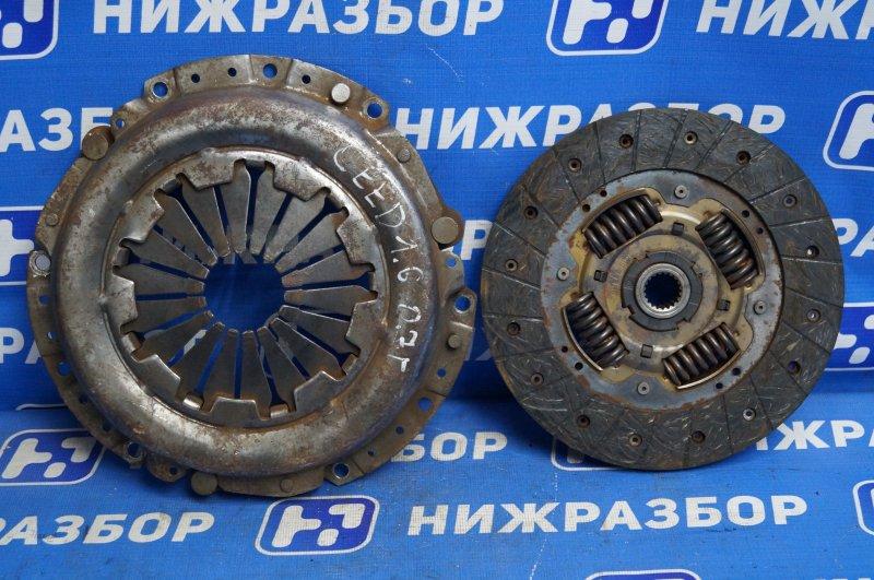 Сцепление комплект Kia Ceed 1.6 2007 (б/у)
