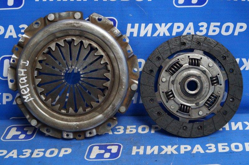 Сцепление комплект Renault Megane 1 1.6 K4MA700 (б/у)