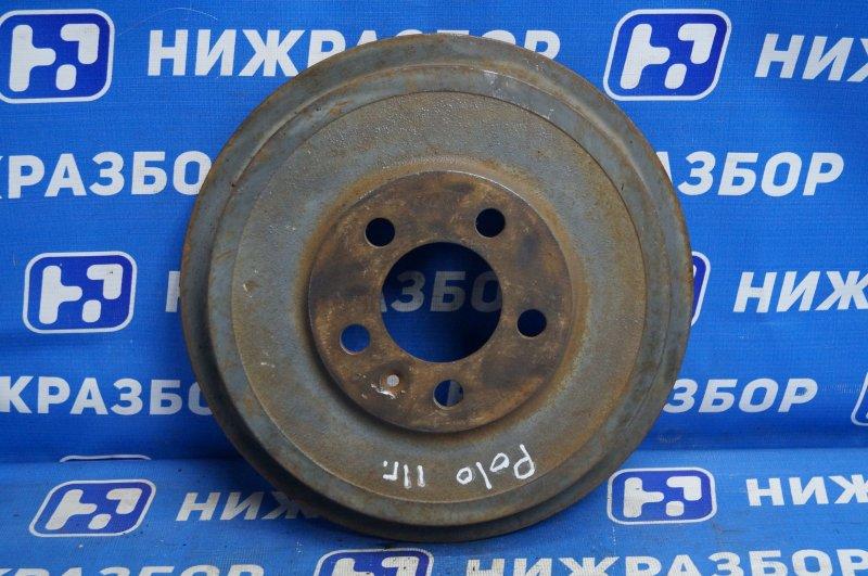 Барабан тормозной Volkswagen Polo Sedan 2011> задний (б/у)