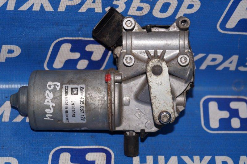 Моторчик стеклоочистителя Opel Corsa D 1.2 Z12XEP передний (б/у)