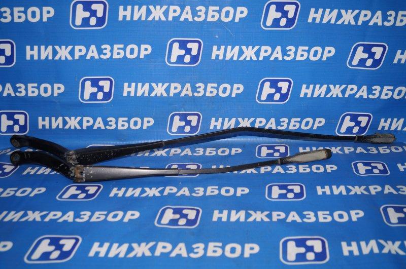 Поводок стеклоочистителя к-кт Opel Corsa D 1.2 Z12XEP передний (б/у)
