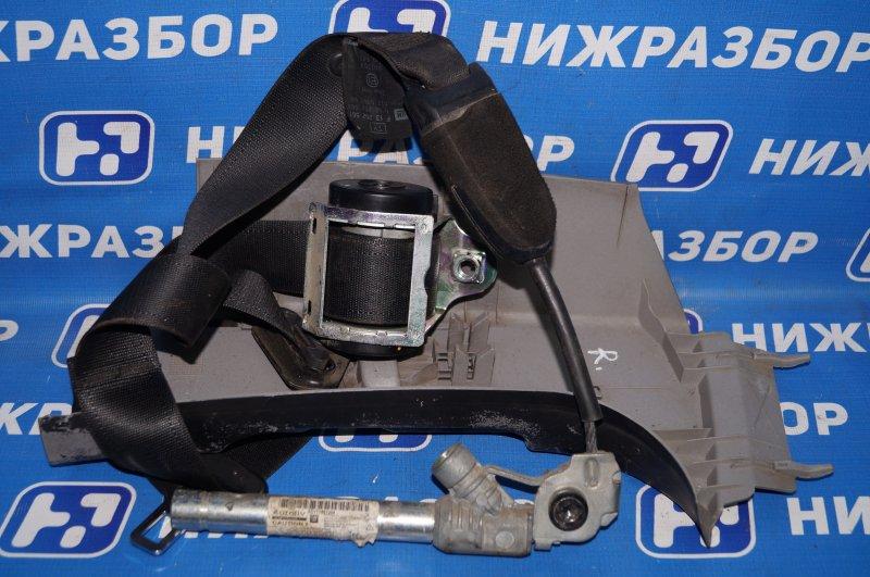 Ремень безопасности с пиропатроном Opel Corsa D 1.2 Z12XEP задний правый (б/у)