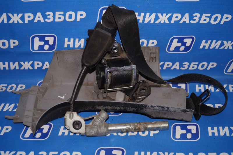 Ремень безопасности с пиропатроном Opel Corsa D 1.2 Z12XEP задний левый (б/у)