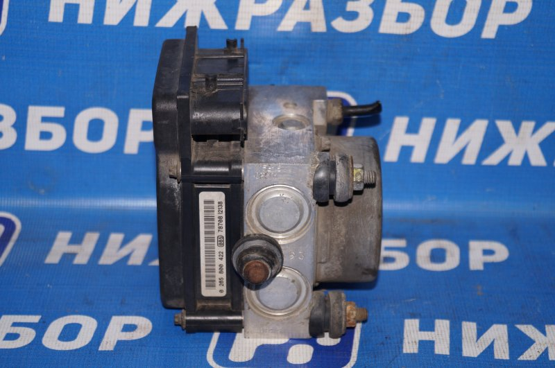Блок abs (насос) Opel Corsa D 1.2 Z12XEP (б/у)