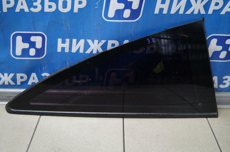 Стекло кузовное глухое Opel Corsa D 1.2 Z12XEP заднее правое (б/у)