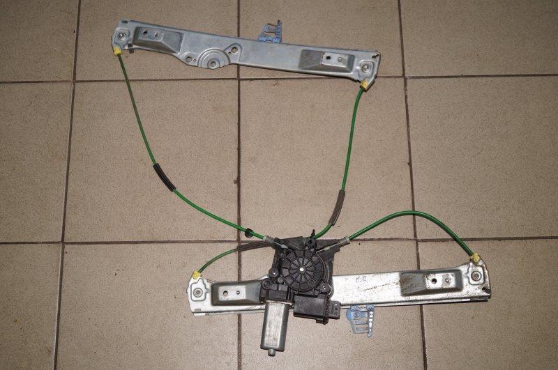 Стеклоподъемник эл. Opel Corsa D 1.2 Z12XEP передний правый (б/у)