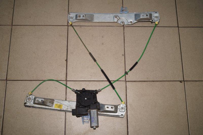 Стеклоподъемник эл. Opel Corsa D 1.2 Z12XEP передний левый (б/у)