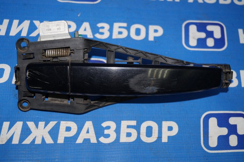 Ручка двери наружная Opel Corsa D 1.2 Z12XEP передняя правая (б/у)