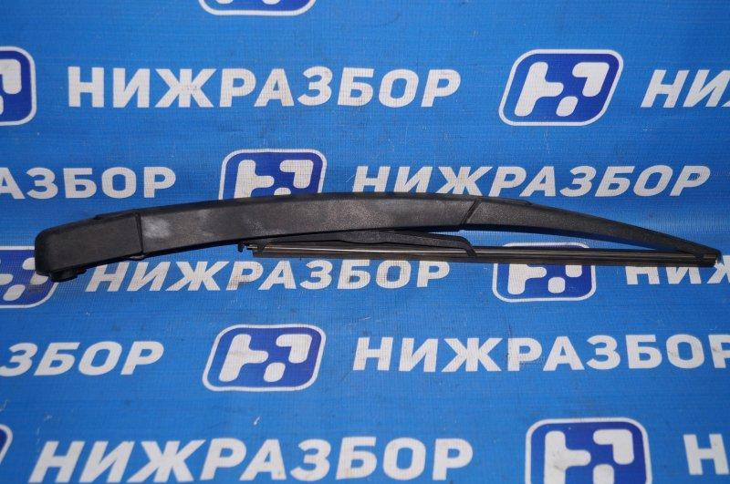 Поводок стеклоочистителя Opel Corsa D 1.2 Z12XEP задний (б/у)