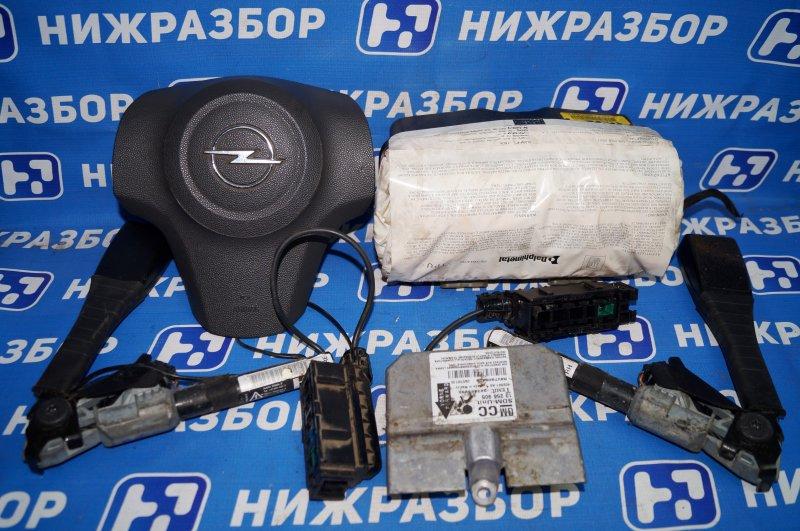 Комплект безопасности Opel Corsa D 1.2 Z12XEP (б/у)