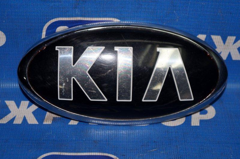 Значок (эмблема) Kia Sportage 3 2010 передний (б/у)